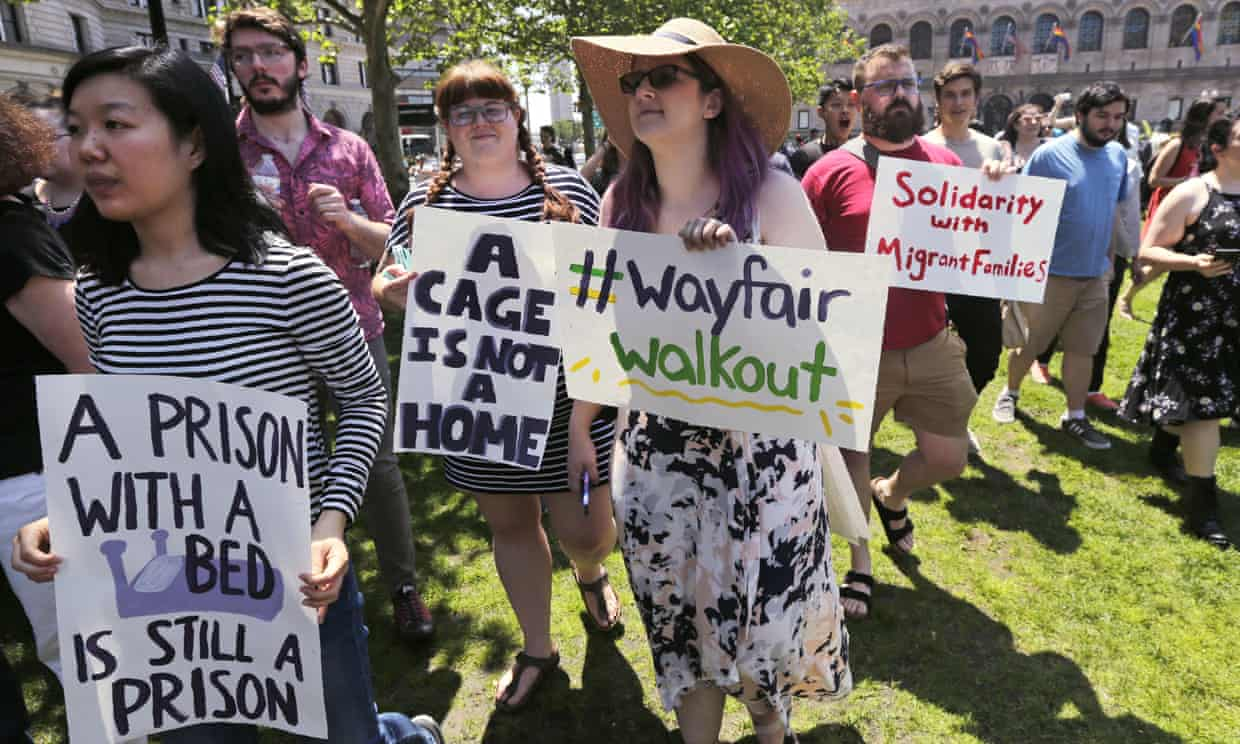 Wayfair Workforce Decides To Walkout While Protesting How