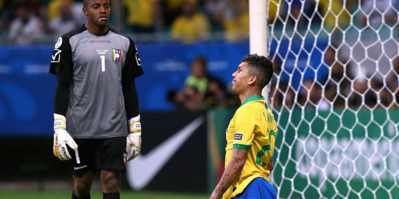 VAR decisions hurt Brazil as Venezuela holds them to draw
