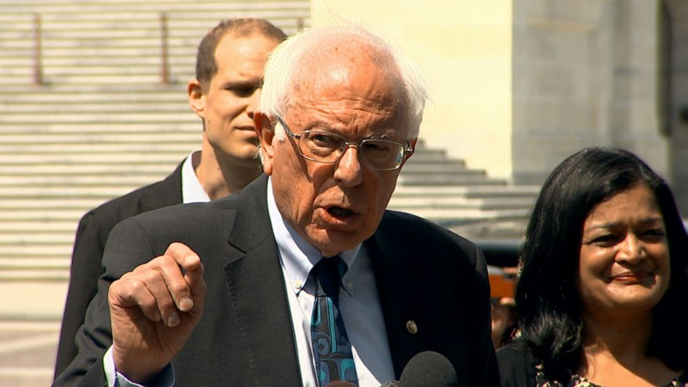 Bernie Sanders proposes to eliminate $1.6 trillion in accordance with student loans