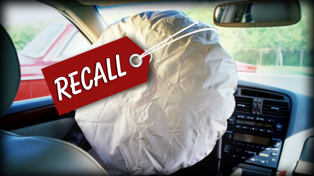 Honda withdraws Takata airbags and calls over 1.6 million vehicles in the US