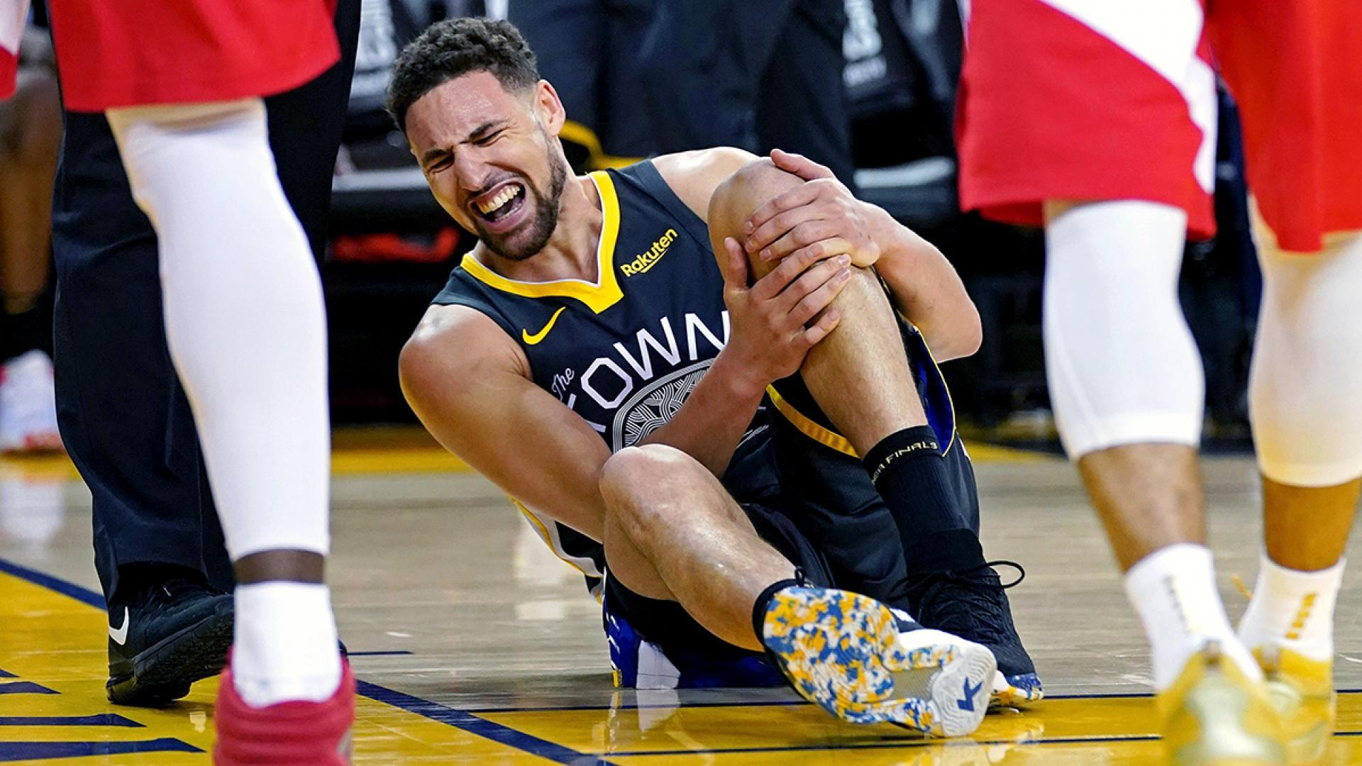 Warriors guard Klay Thompson suffers torn ACL during NBA Finals