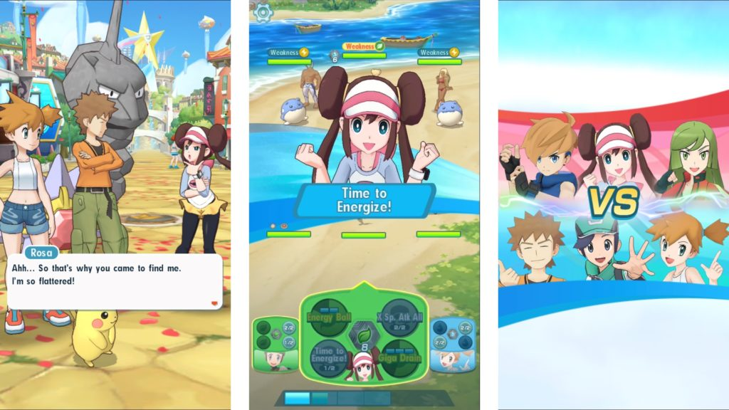 Pokemon Masters is the new animation for smartphone platform