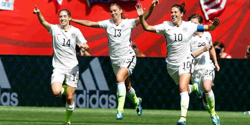 Perfect US beats Sweden 2-0 to top Group F