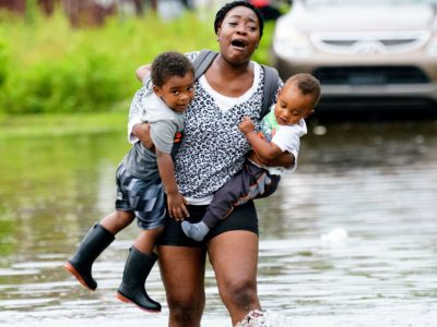 Flash flood emergency in New Orleans