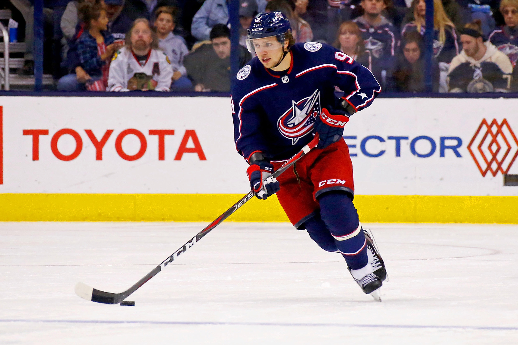 New York Rangers signs Artemi Panarin for a huge sum