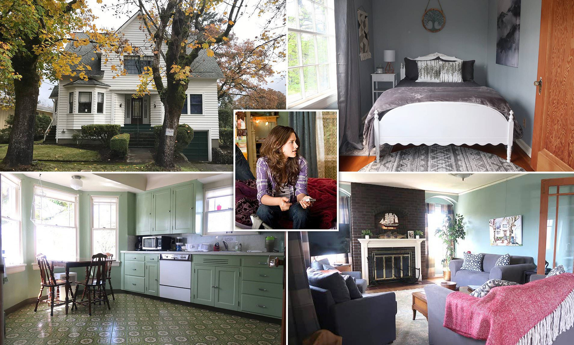 Airbnb offers Bella Swan's house from Twilight to be yours for a day!