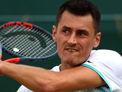 Bernard Tomic fined entire £45,000 match fee for lack of effort in 58-minute first-round defeat by Jo-Wilfried Tsonga at Wimbledon