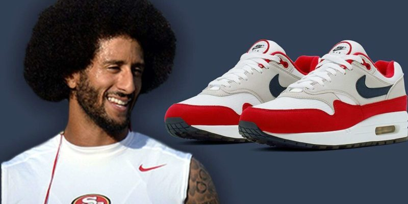 Colin Kaepernick gets a Nike sneaker with the American Flag off the market