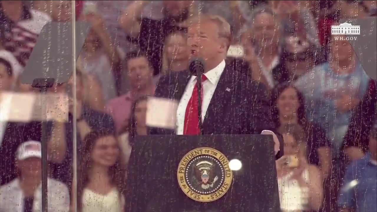 Trump on the the Fourth of July