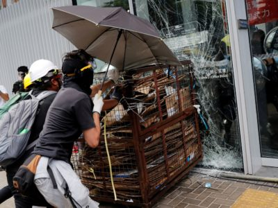 Hong Kong witnesses Protest on Handover Anniversary