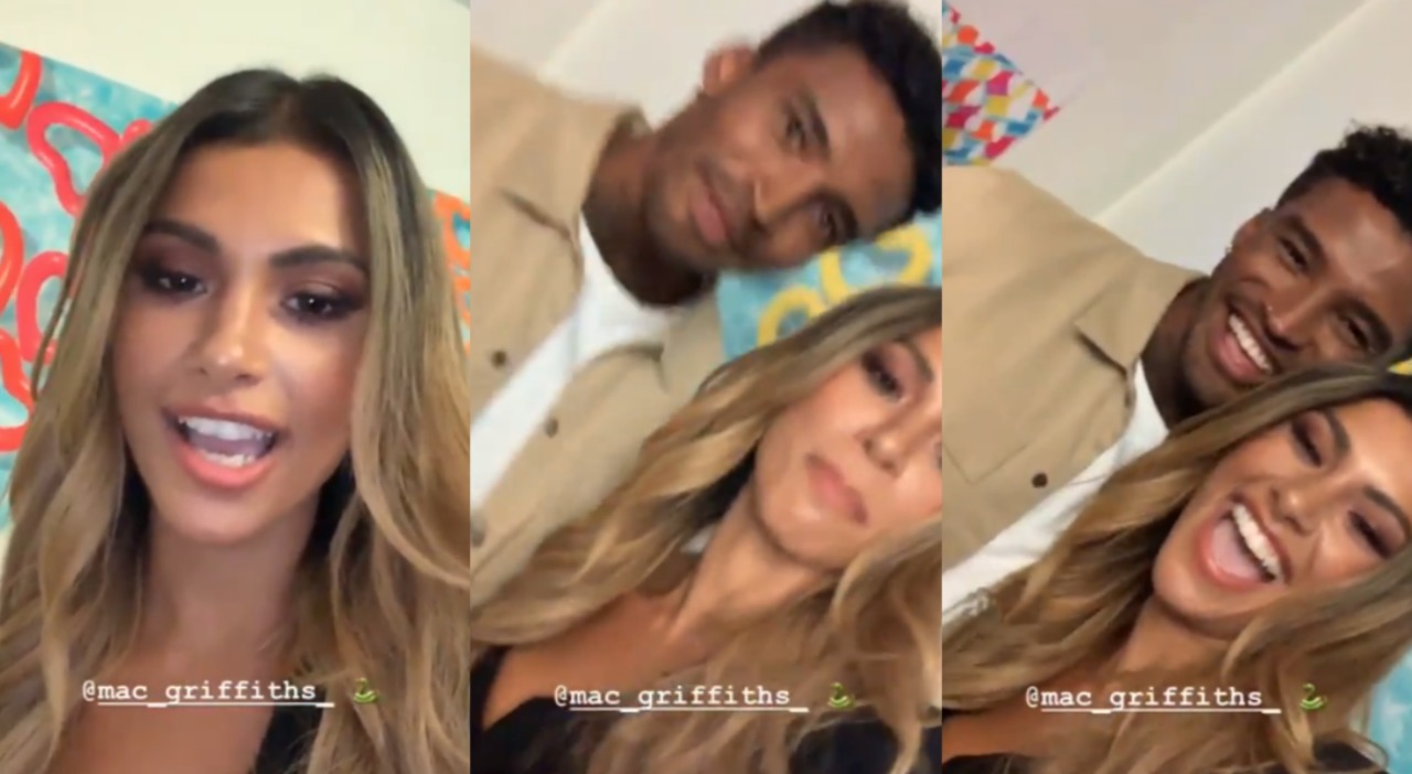 Joanna Chimonides and Michael Griffiths reignites dating rumors on sets of Love Island