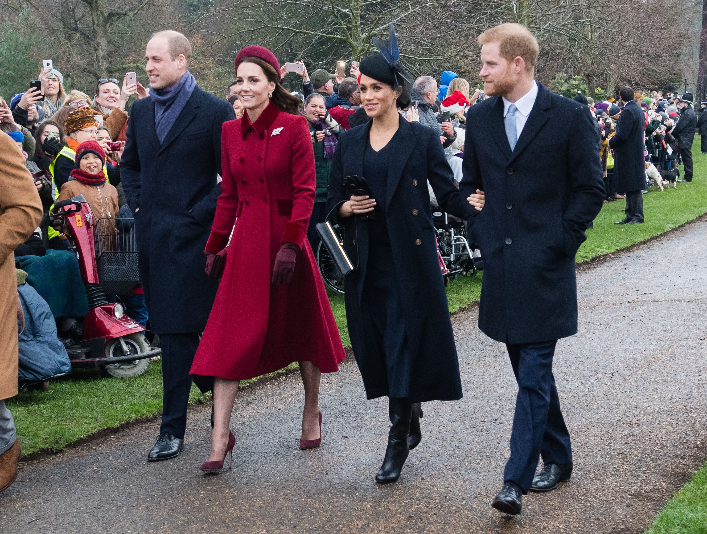 Meghan Markle reportedly cuts out Middleton from royal photographs
