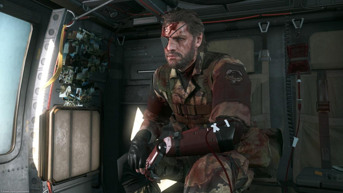 Metal Gear Solid 5 Mod Lets You Play as Kojima