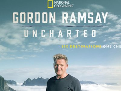 "National Geographic's new series - ""Gordon Ramsay: Uncharted"""