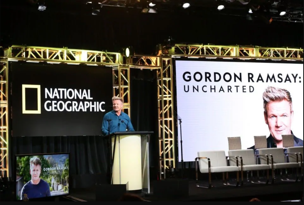 """National Geographic's new series - """"Gordon Ramsay: Uncharted"""""""