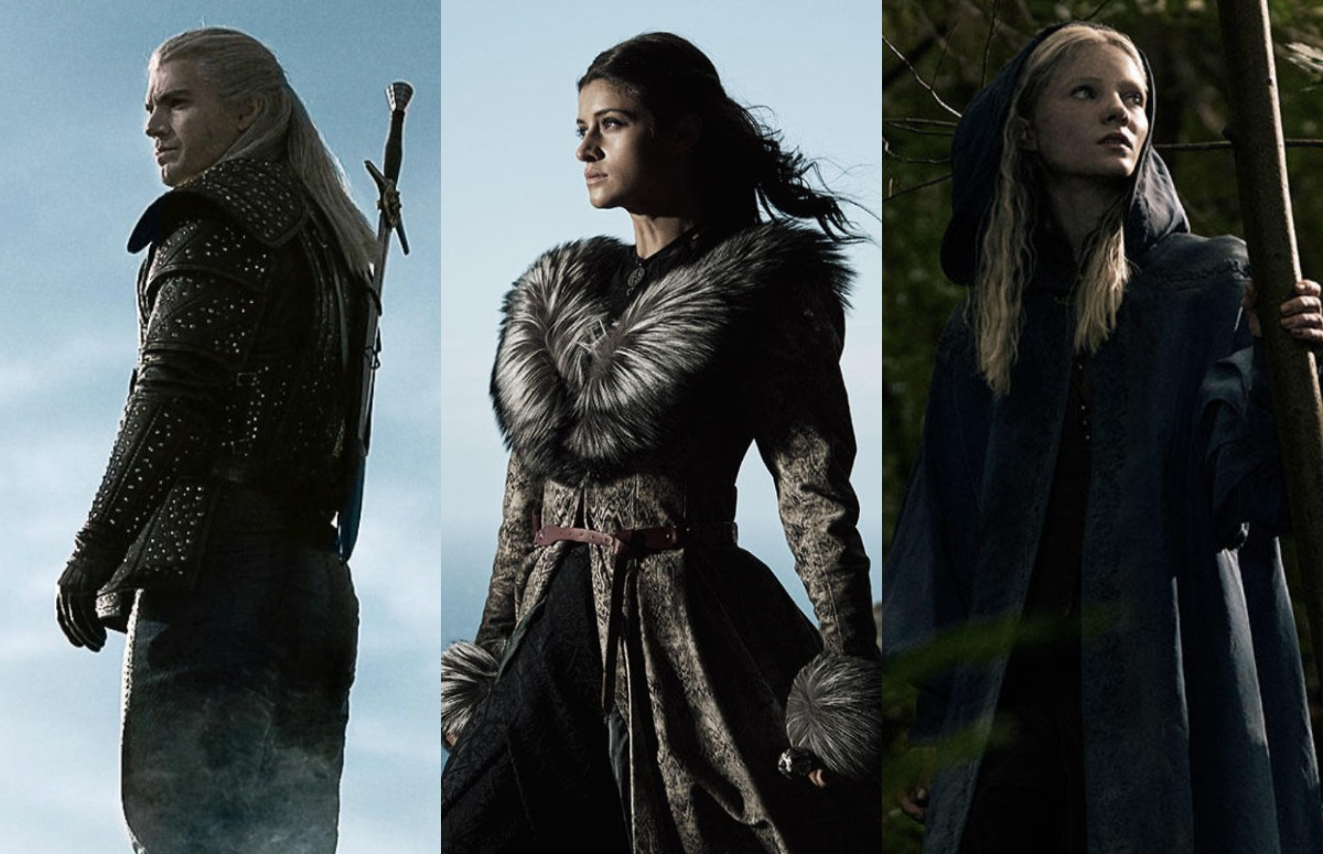 Netflix unveils the first look of The Witcher revealing Geralt, Yennefer, and Ciri out of mist_1
