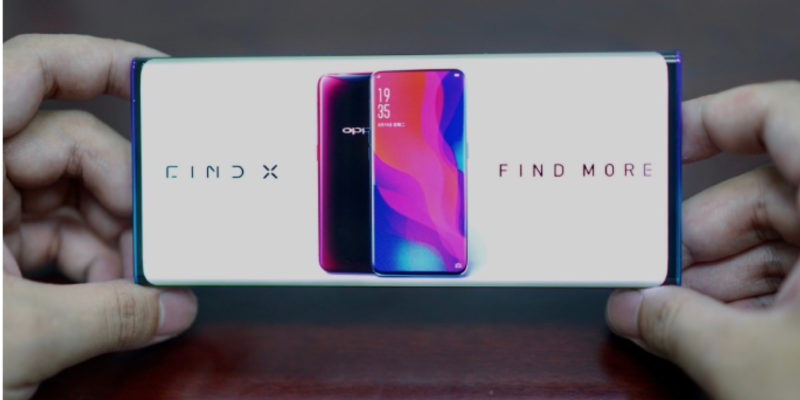 OPPO reveals waterfall display with no bezels or buttons