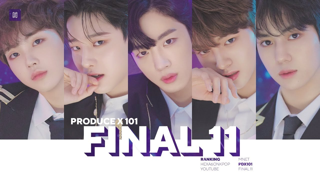 Produce X 101 inching toward a Grand Finale new boy band X1 - BlockToro