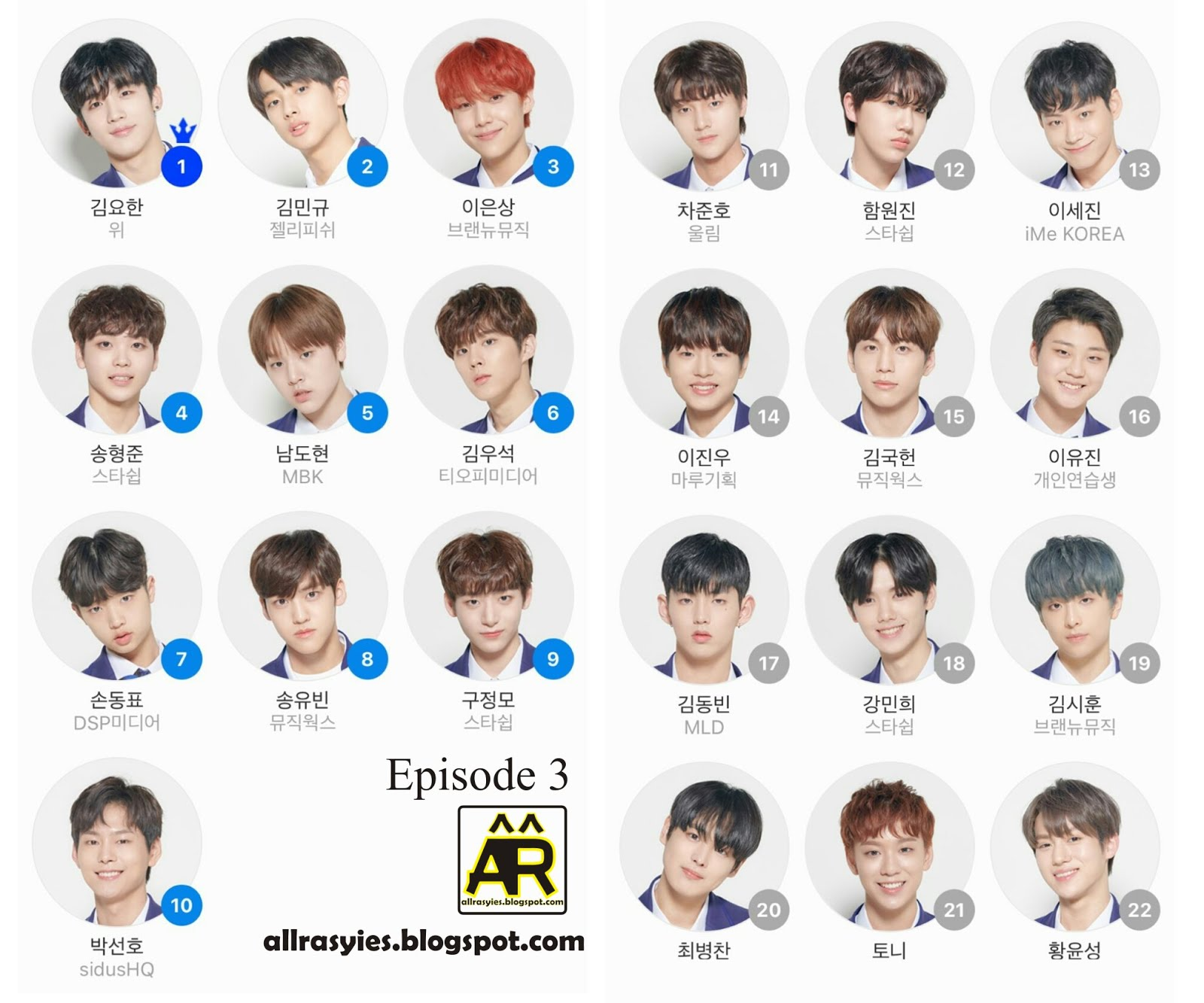 Produce X 101 recklessly trying to promote the finale teaser