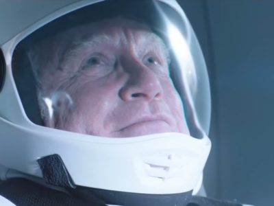 Richard Dreyfuss stars as a lonely space walking in the movie Astronaut, releasing this July