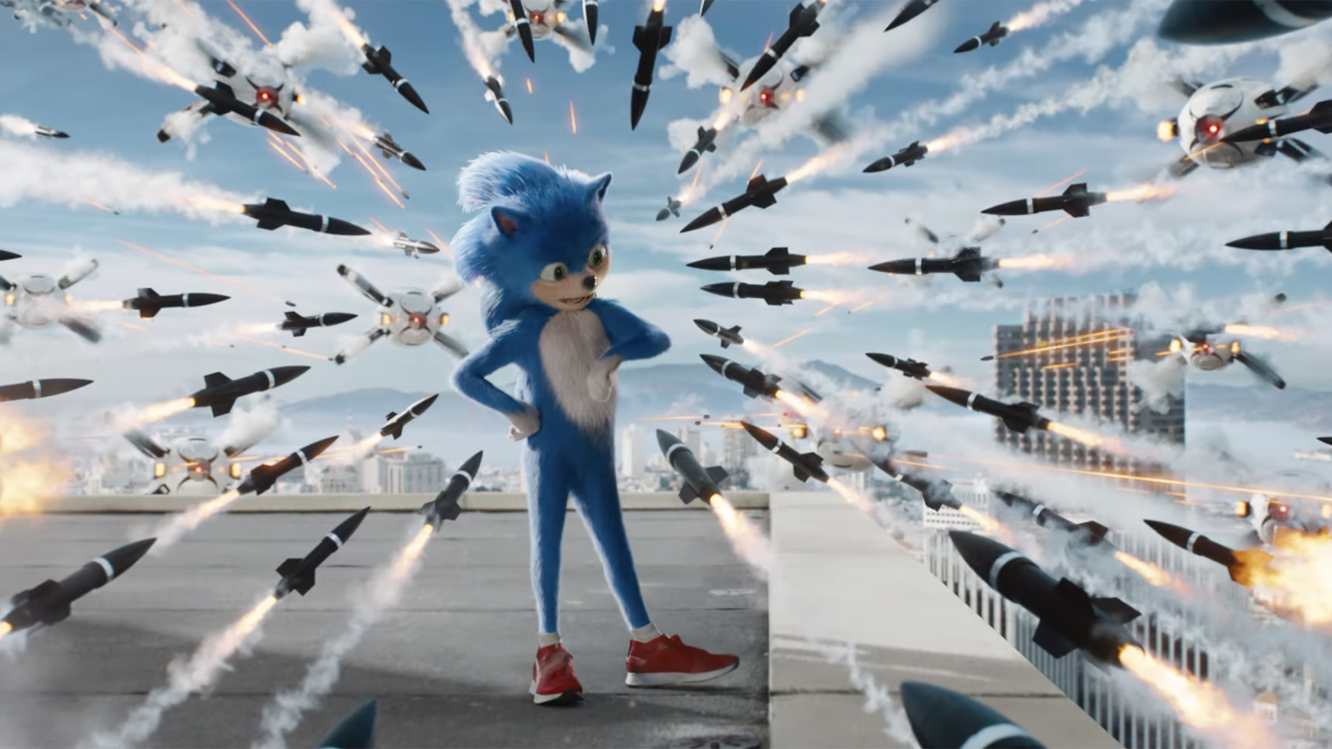 Sonic the hedgehog has been redesigned, but do fans like it?-u