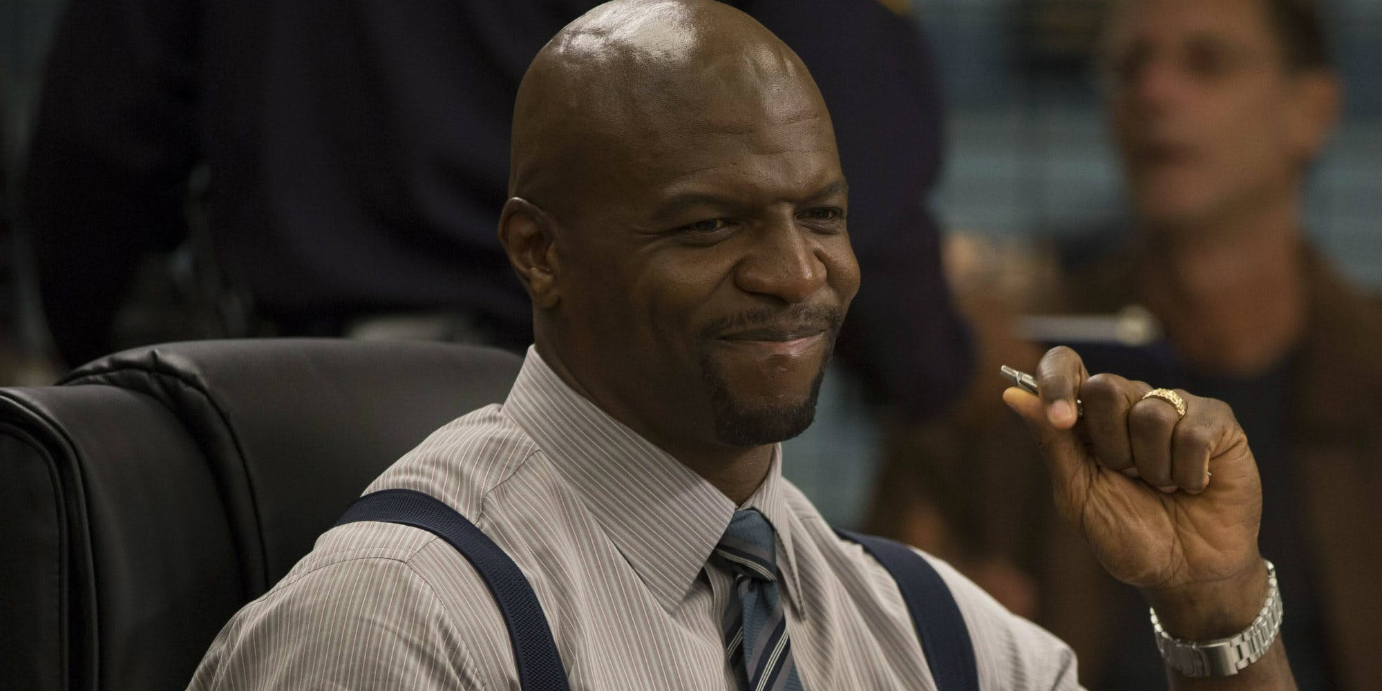 Terry Crews has shown interest in becoming King Triton