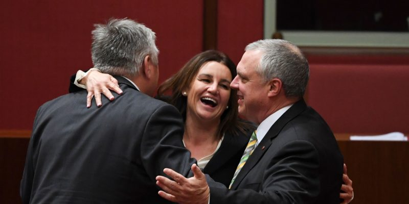 The $158 billion tax package passed by the Australian Government