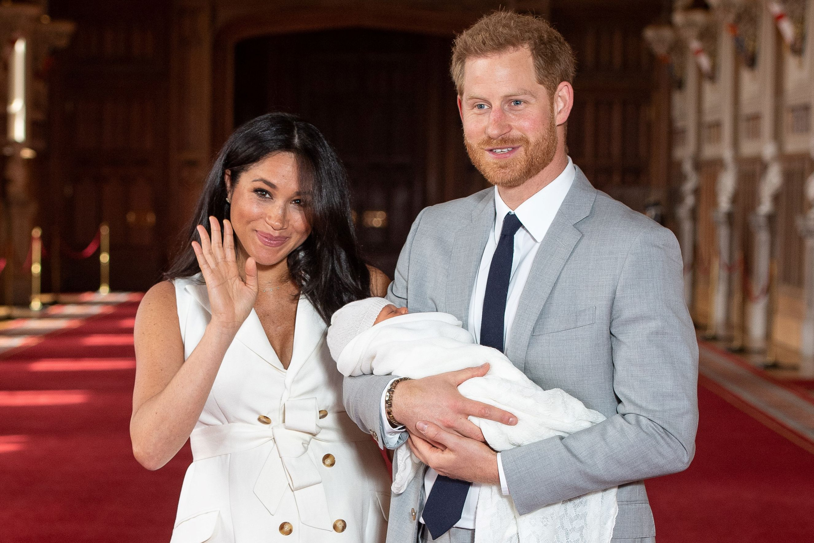 Baby of Prince Harry and Meghan Markle christened on Saturday: Who are his Godparents?