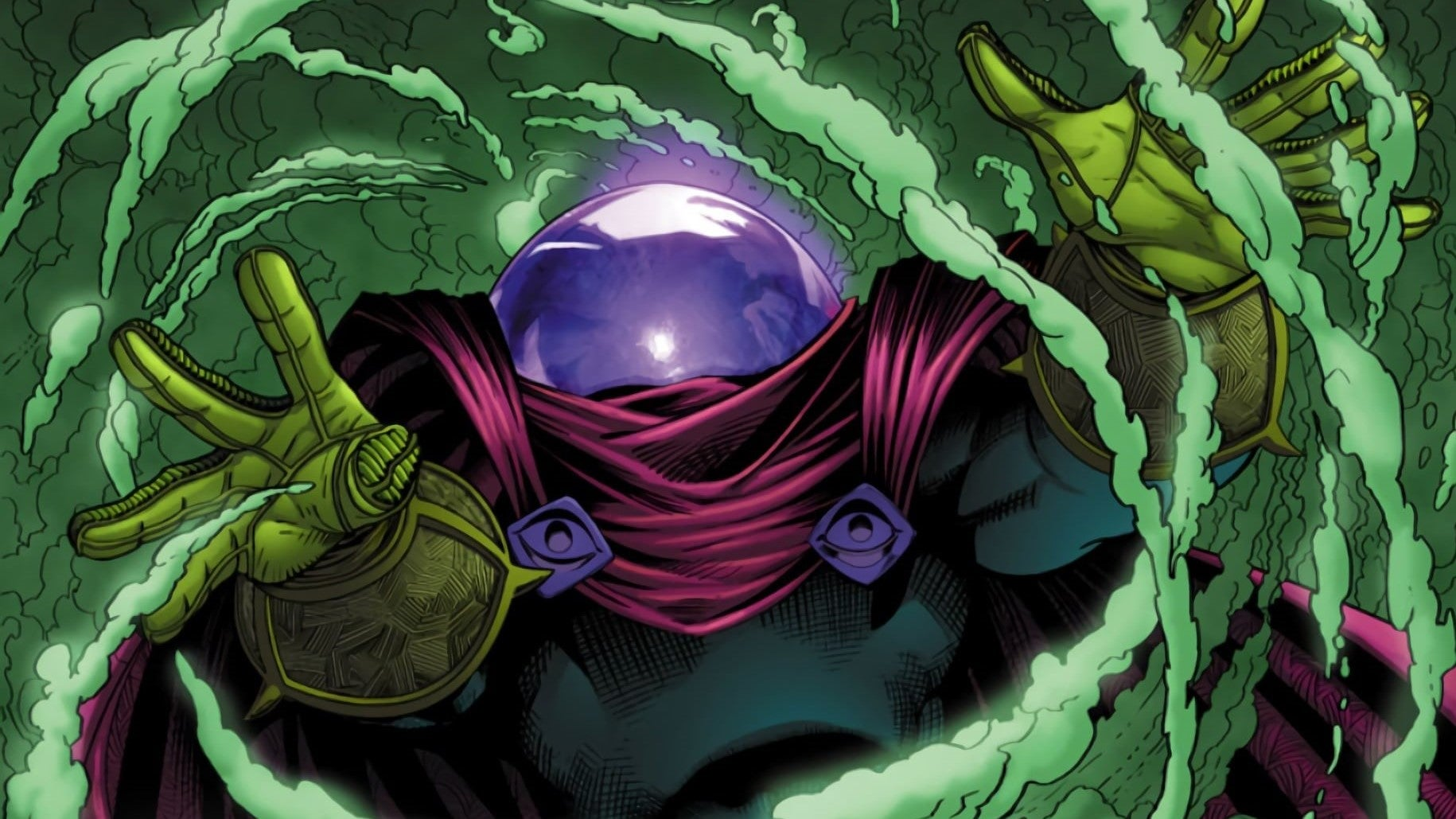 Welcome the Spider-Man Far From Home new villain- Mysterio.