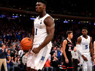 Pelicans' No.1 pick Zion Williamson impresses on Summer League debut