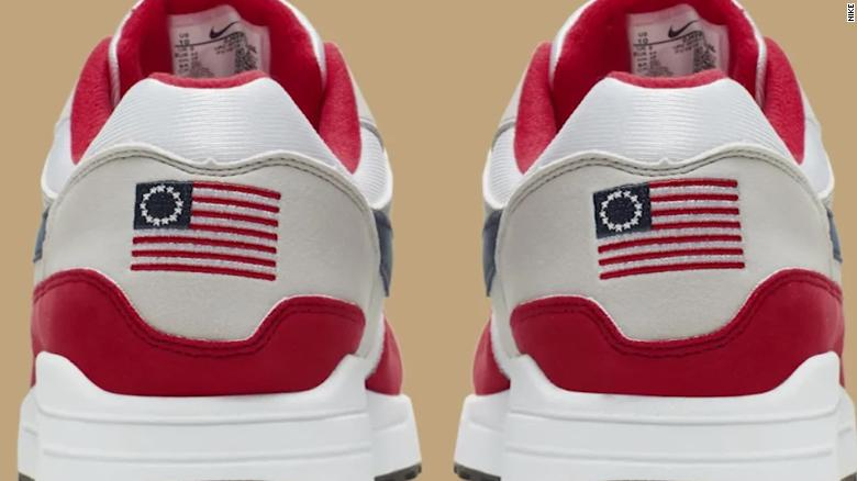 Nike wrenched it's Betty Ross sneakers after a complaint lodged