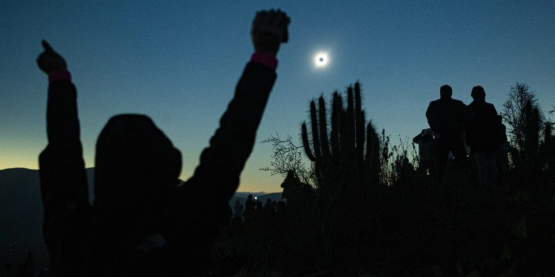 Chile witnesses spectacular Total Solar Eclipse after centuries