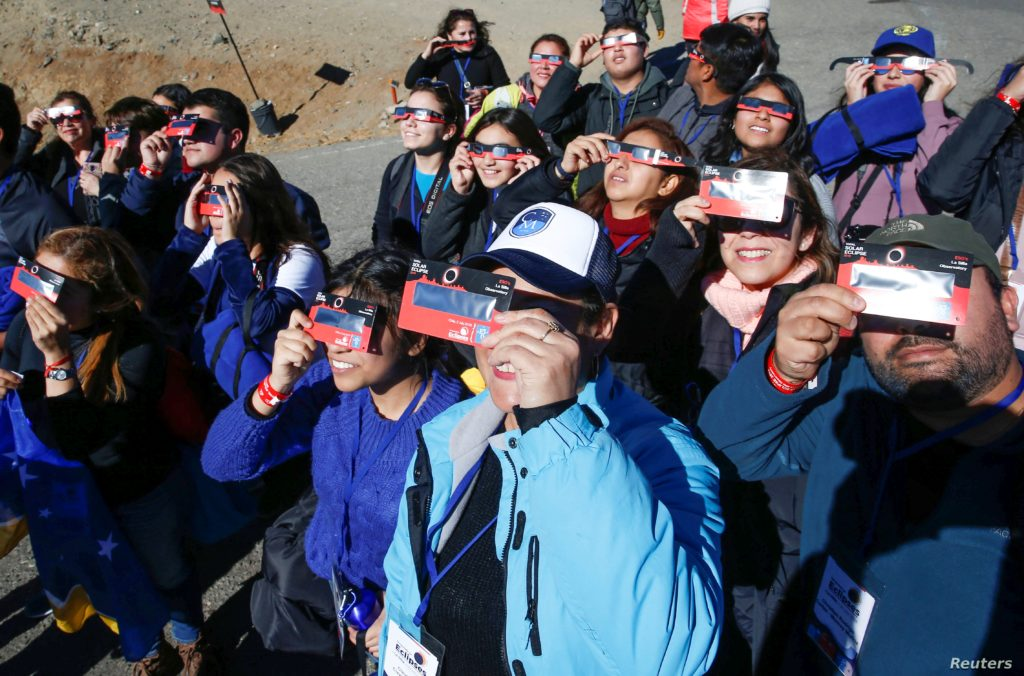 Total Solar Eclipse- the region of Chile witnesses after centuries