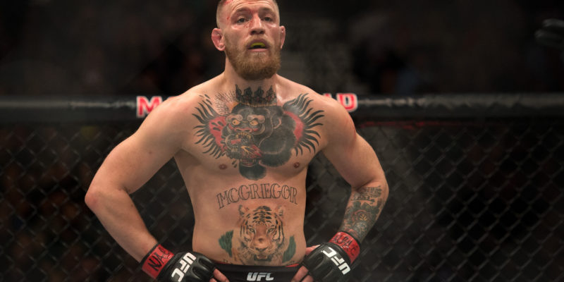 Why is Connor McGregor one of world's highest paid athletes ?