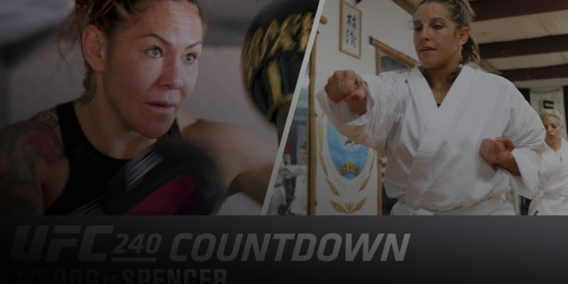 Chris Cyborg nearing her retirement faces a spirited Spencer at UFC 240