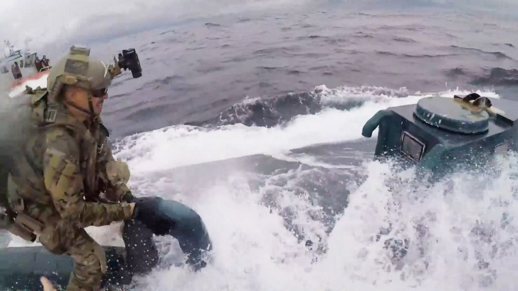 Biggest cocaine and marijuana bust caught by Coast Guard authorities near Eastern Pacific