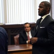 R Kelly under custody on sexual assault charges.