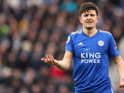 Leicester declines £70m as bidding war heats up for Maguire