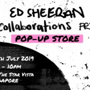 Ed Sheeran pop up to open with his new album