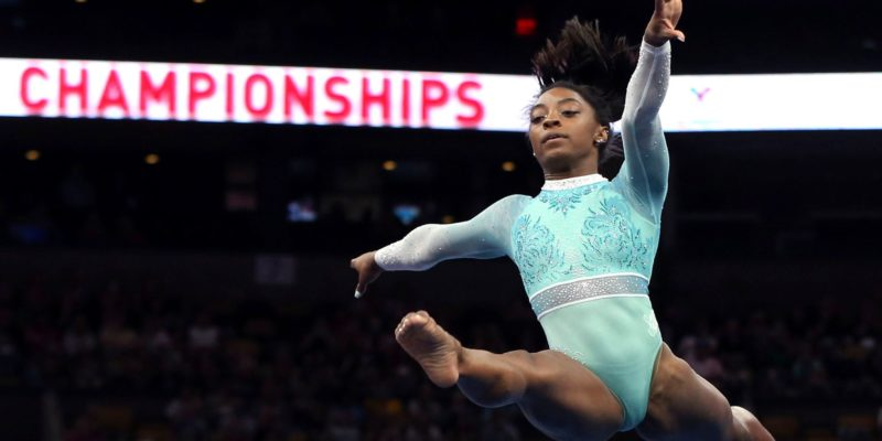Olympics Gold Medalist Simone Biles continues with 6 year long win streak