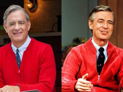 A Beautiful Day in the Neighborhood Tom Hanks as Fred Rogers will melt hearts