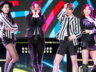 f(x) band had a raunchy reunion at SMTOWN LIVE 2019 in Tokyo