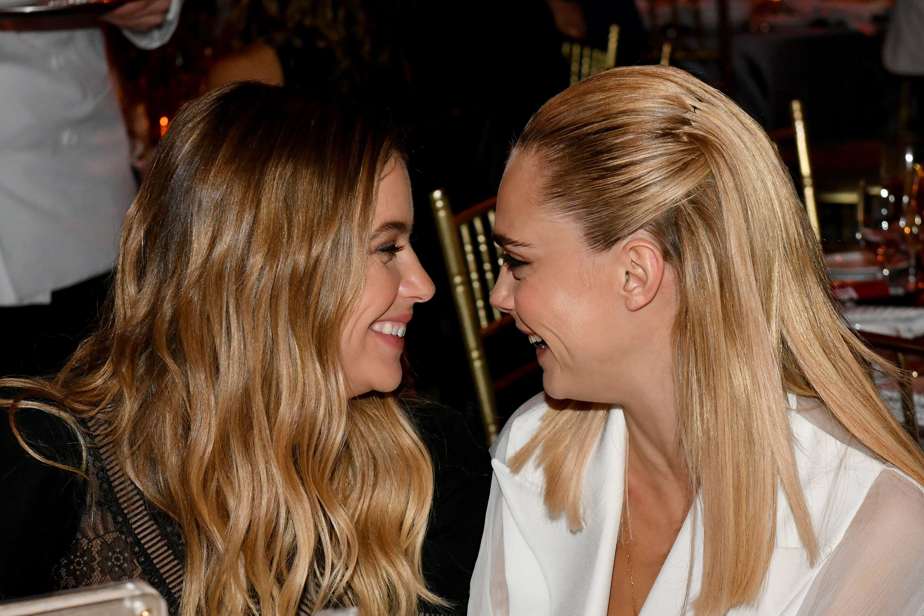 Cara Delevingne and Ashley Benson are a married couple now?