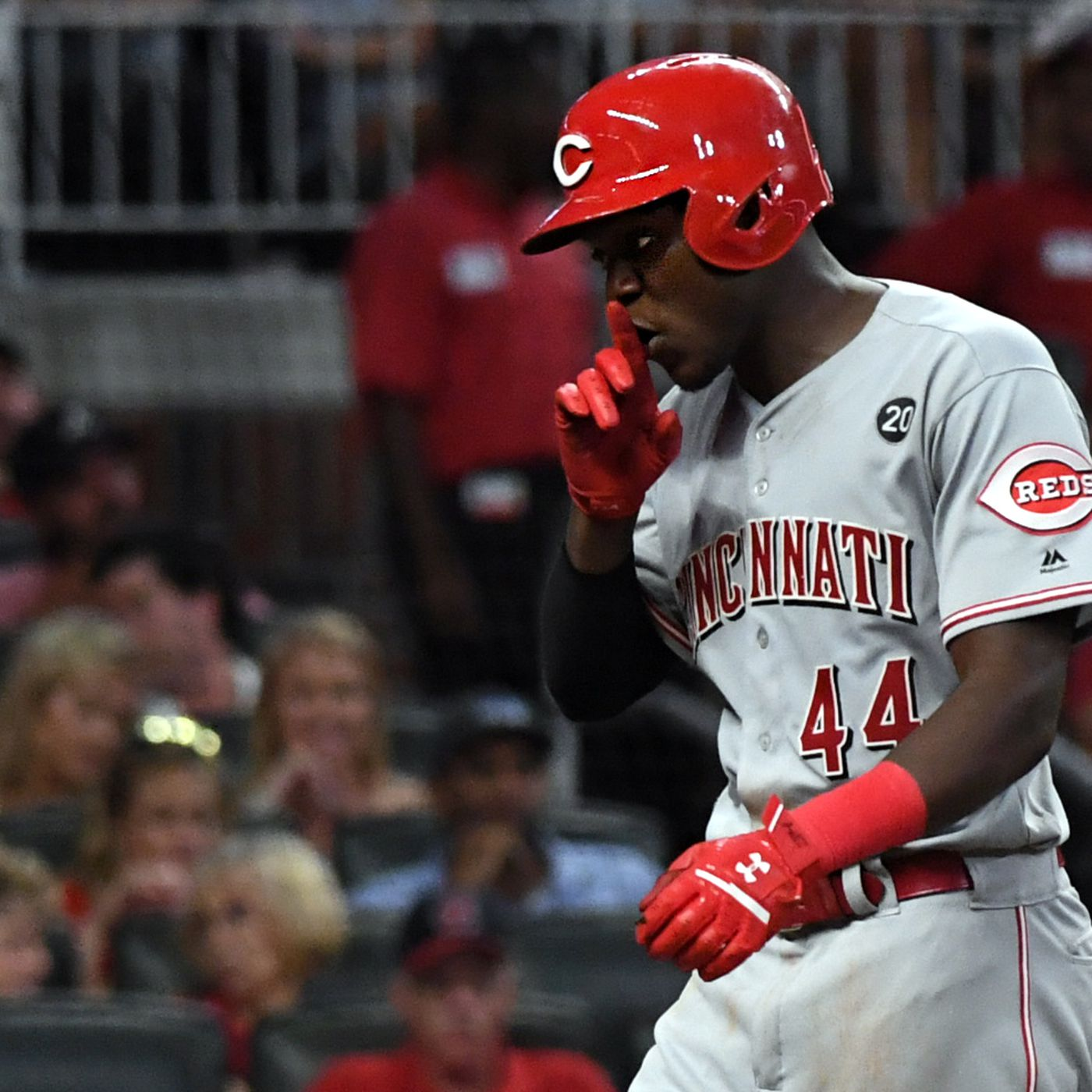 Reds Rookie Aristides Aquino storms into record books in MLB debut season