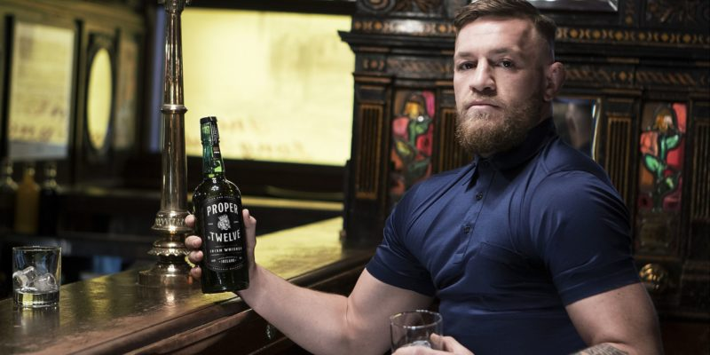 UFC Video: Conor Mcgregor attacks old man who denied his whiskey