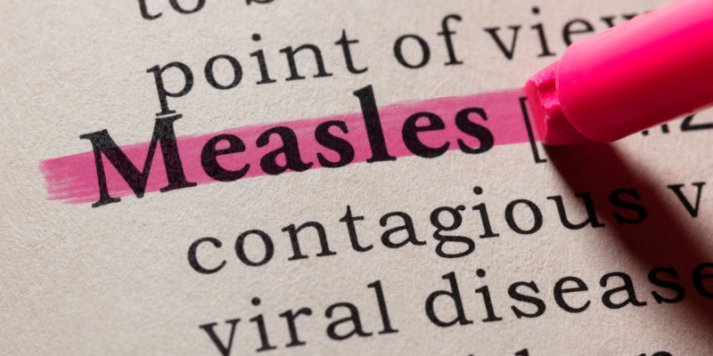 New York state announced several more Measles cases