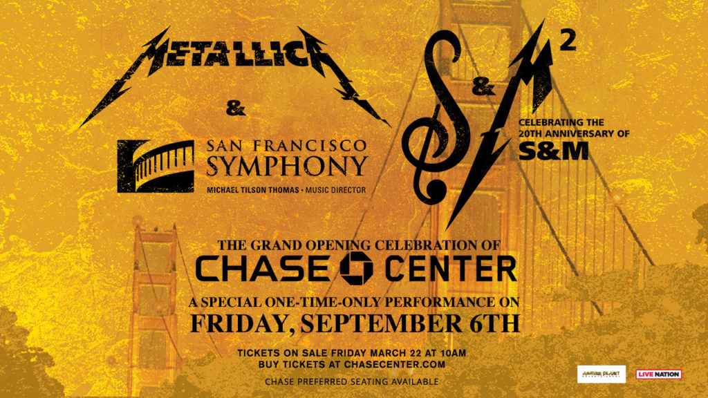 """""""Metallica and Symphony: S&M2"""" reunites for 20th anniversary as well as a movie"""