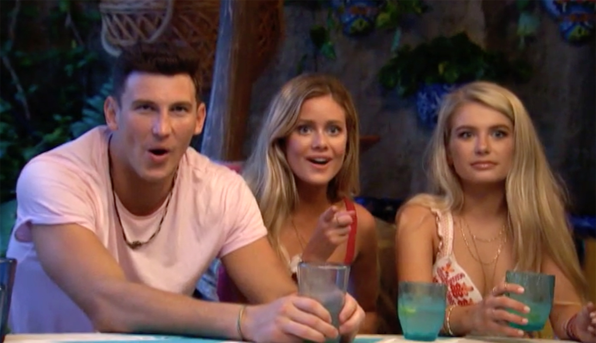 Bachelor in Paradise: Blake two-times with two women on show