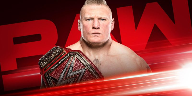 Brock Lesnar is back on Raw's last episode before Summer Slam