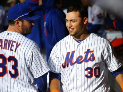 Micheal Conforto stars in Mets win but suffers a nasty collision